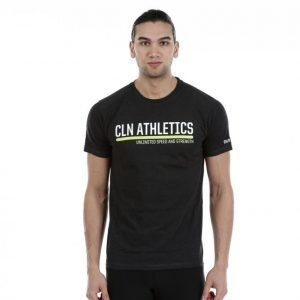 Cln Athletics Cln Unlimited T-Shirt Treenipaita Musta