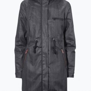 Close By Denim The Denim Parka Parkatakki