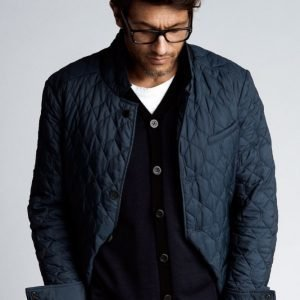 Close By Denim The Quiltet Jacket Slim Fit Takki