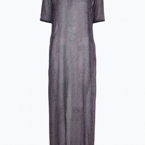 Close By Denim The Sheer Maxi Maksimekko