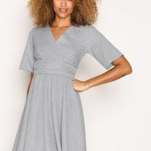 Closet Jersey Skater Dress Loose Fit Mekko Grey