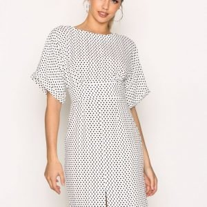 Closet Kimono Wiggle Dress Loose Fit Mekko Black / White