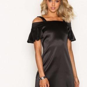 Closet Off-The-Shoulder Strap Dress Kotelomekko Black