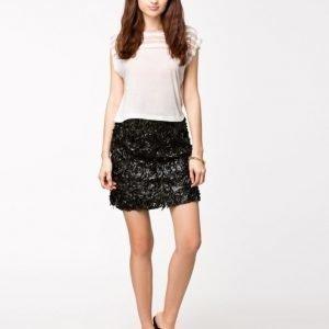 Club L 3D Floral Skater Skirt