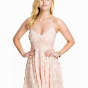Club L Babydoll Lace Dress Vit/Mint