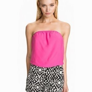 Club L Bandeu Playsuit Rosa
