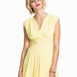 Club L Chiffon Tier Dress Rosa