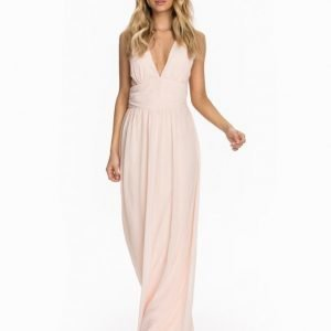 Club L Criss Cross Chiffon Maxi Dress Mint Grön