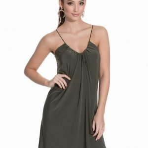 Club L Essentials Cami Swing Dress Khaki