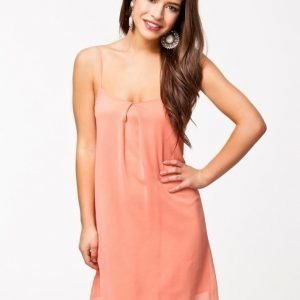Club L Strap Swing Dress Peach