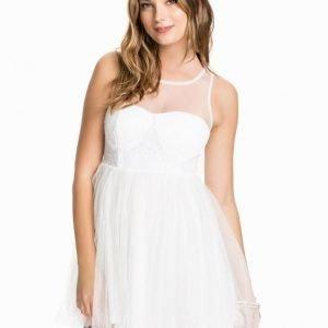 Club L Sweetheart Mesh Sequin Prom Dress