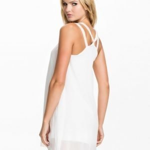 Club L V Pearl Strap Chiffon Dress