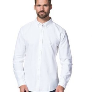 Clubs and Spades Ali Oxford Shirt White