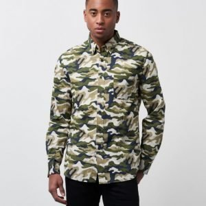 Clubs and Spades Charlie Camo Shirt