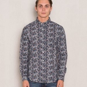 Clubs and Spades Hampus Shirt Navy