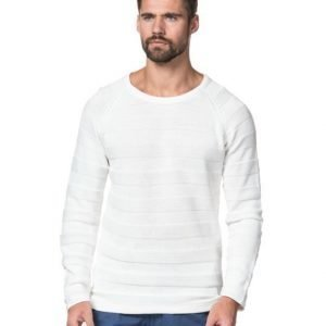 Clubs and Spades Raphael Knit White