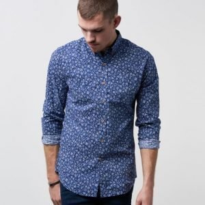 Clubs and Spades Robert Flowerprint Shirt