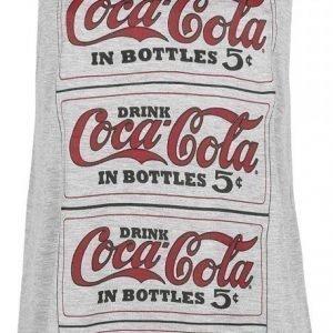 Coca Cola Logo Repeat Naisten Toppi