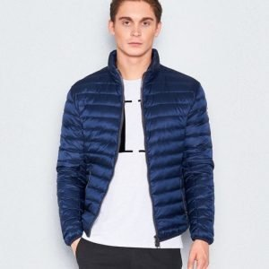 Colmar Mens Down Super Light Jacket 68 Navy Blue