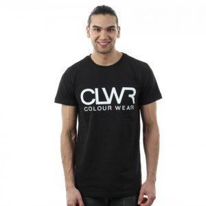 Colour Wear Clwr Clwr Tee T-paita Musta