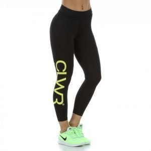 Colour Wear Clwr Pulse Tights Treenitrikoot Musta