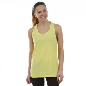 Colour Wear Clwr Twist Tank Top Treenitoppi Keltainen