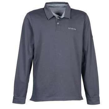 Columbia FIELDS OF GREY LONG SLEEVE POLO pitkähihainen poolopaita