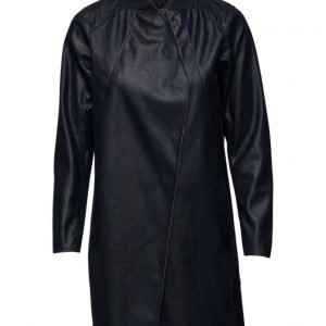 Coster Copenhagen Artificial Crocodile Long Jacket kevyt päällystakki