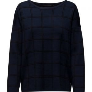 Coster Copenhagen Check Knit Top neulepusero