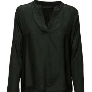 Coster Copenhagen Cupro Shirt pitkähihainen pusero
