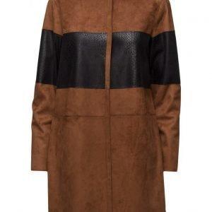 Coster Copenhagen Fake Suede Jacket kevyt takki