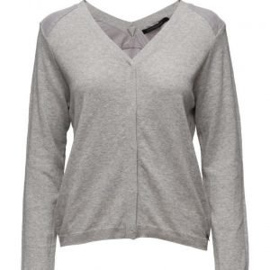 Coster Copenhagen Knit Cardigan W. V-Front And Back neuletakki
