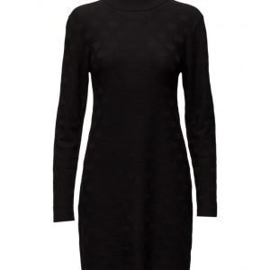 Coster Copenhagen Knit Dress W. Circle Structure lyhyt mekko