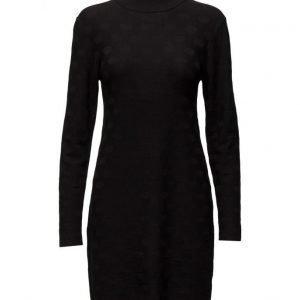 Coster Copenhagen Knit Dress W. Circle Structure lyhyt mekko
