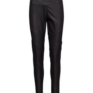 Coster Copenhagen Leather And Jersey Leggings