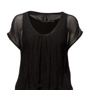 Coster Copenhagen Silk/Jersey T-Shirt lyhythihainen pusero