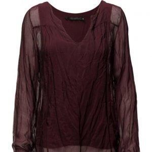 Coster Copenhagen Silk/Jersey Top W. Long Sleeve pitkähihainen pusero