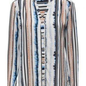 Coster Copenhagen Stripe Print Shirt pitkähihainen pusero