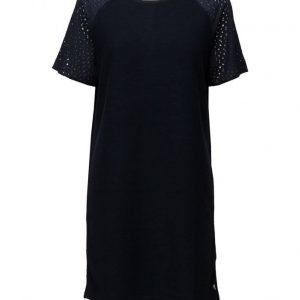 Coster Copenhagen Sweat Dress W. Lace Sleeves lyhyt mekko