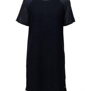 Coster Copenhagen Sweat Dress W. Lace Sleeves lyhyt mekko