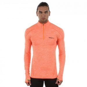 Craft Active Comfort Zip Aluskerrasto Oranssi / Keltainen
