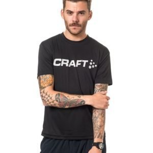 Craft Ar Logo Tee M Black