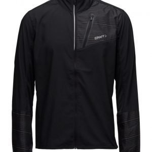 Craft Craft Devotion Jkt M P Geo Black tuulitakki