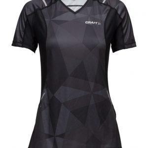 Craft Craft Devotion Ss Shirt W P Geo Black urheilupaita