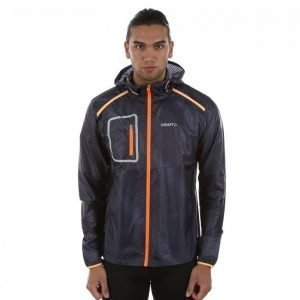 Craft Focus 2.0 Hood Jacket Treenitakki Musta