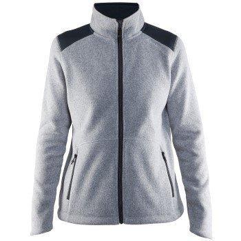 Craft Noble Zip Jacket Heavy Knit Fleece Women