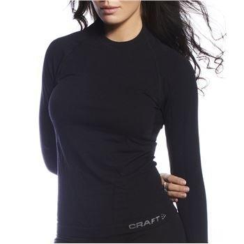 Craft Warm Wool Round Neck Black