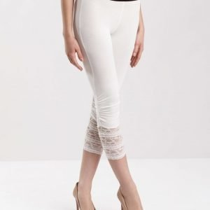 Cream Agnes leggingsit