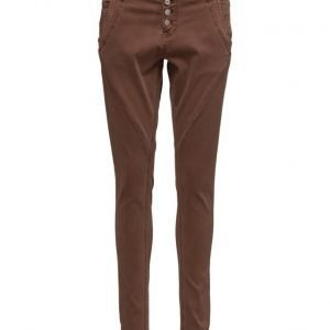 Cream Bailey Twill Pants skinny farkut