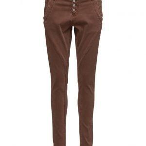 Cream Bailey Twill Pants skinny farkut